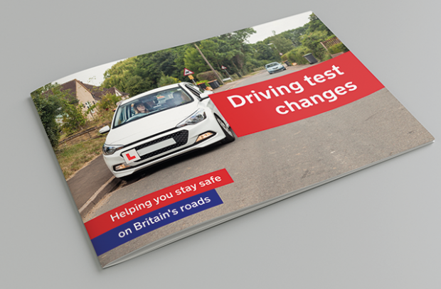 Driving test changes handbook
