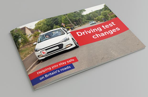 Driving test changes handbook