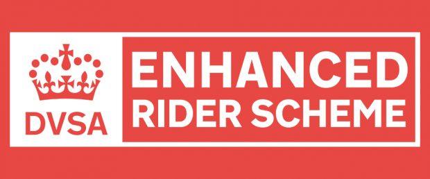 DVSA Enhanced Rider Scheme logo